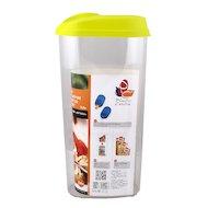 Фото контейнеры для продуктов Plastic Centre ПЦ3612 Банка для сыпучих продуктов Optima 2.4л