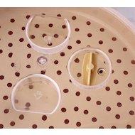 Фото Пластиковая посуда для СВЧ BEROSSI 05633 Пароварка д/СВЧ Экспресс