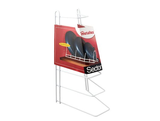 Подставки для посуды Metaltex Подставка д/крышек 34x15x18