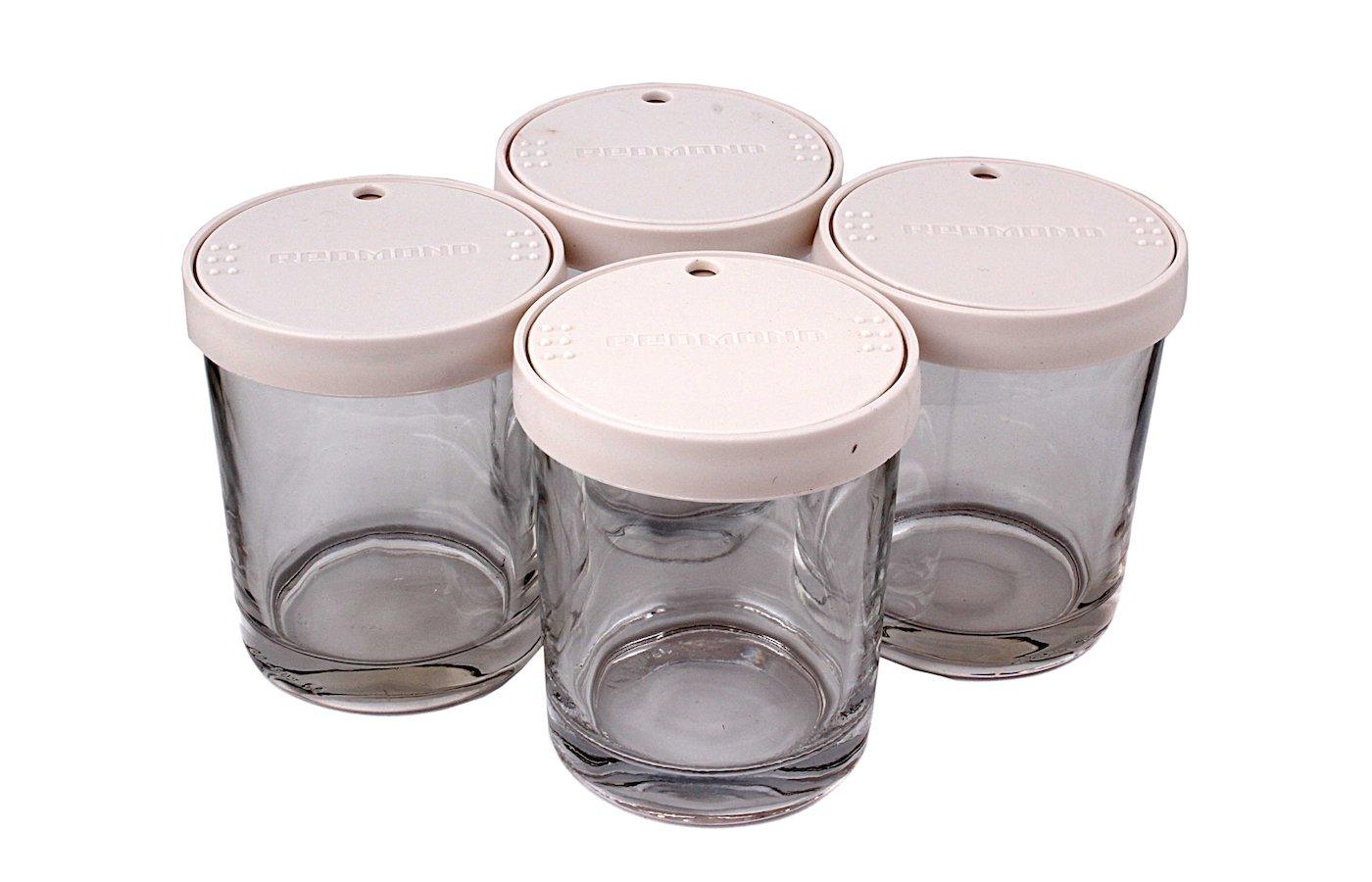 Принадлежности для мультиварок REDMOND RAM-G1 Комплект банок для йогурта