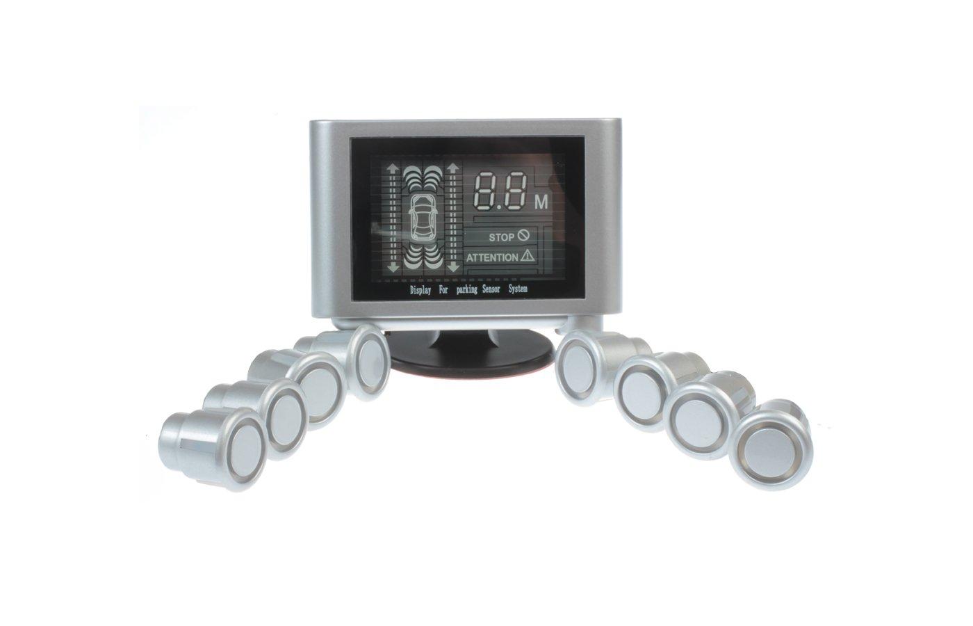 Парктроник Sho-Me Y-2612N08 silver