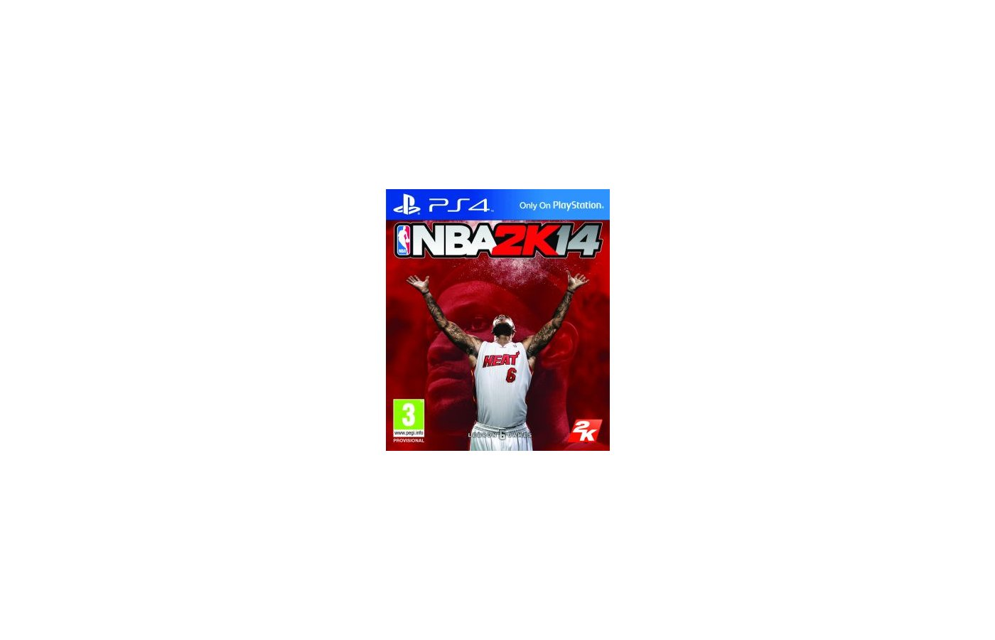 NBA 2K14 (PS4 английская версия)