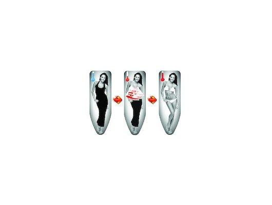 Чехлы и принадлежности для глажки Colombo Чехол д/гл.доски с терморисунком Girl 130х50см