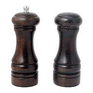 Фото набор для специй VETTA 827-035 Набор для специй 2пр. мельница 14см + солонка 13см деревянный