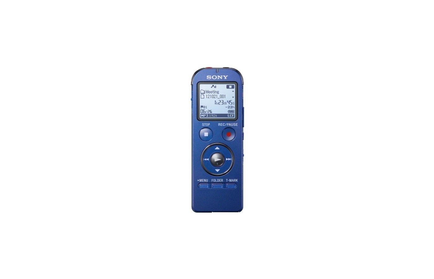 Диктофон SONY ICD-UX533 4Gb Silver