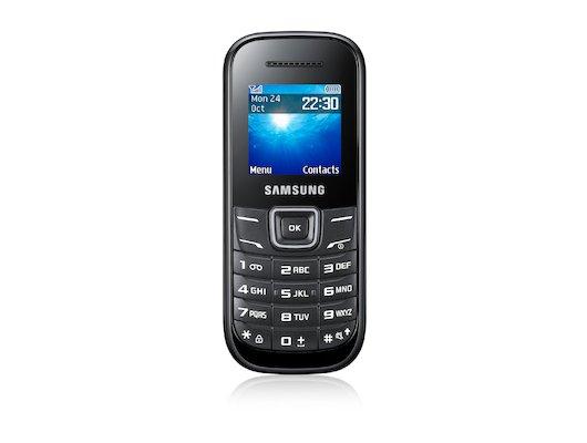 Мобильный телефон Samsung GT-E1200 black