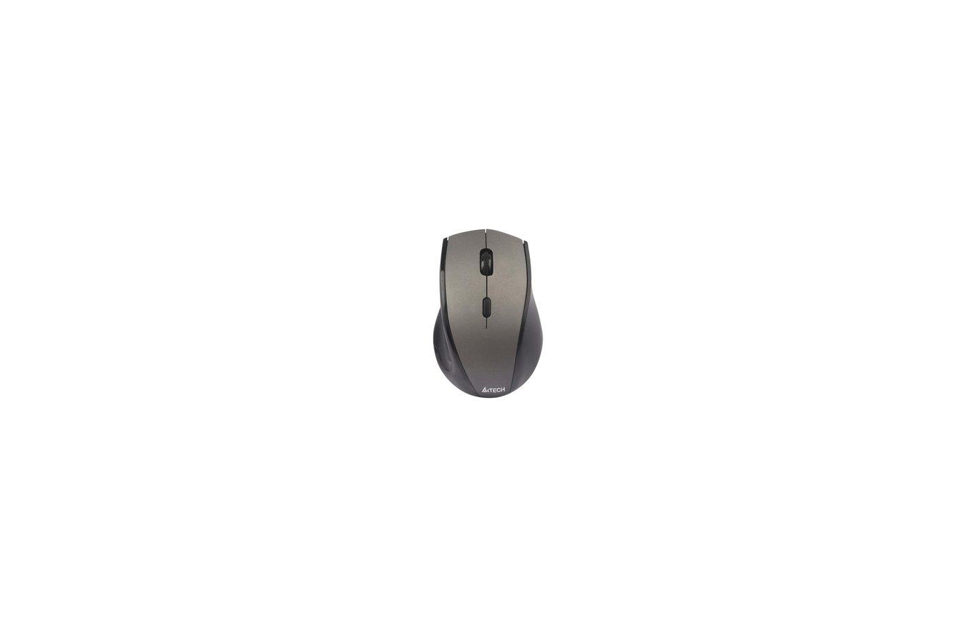 Мышь беспроводная A4Tech G7-740NX Grey-Black USB