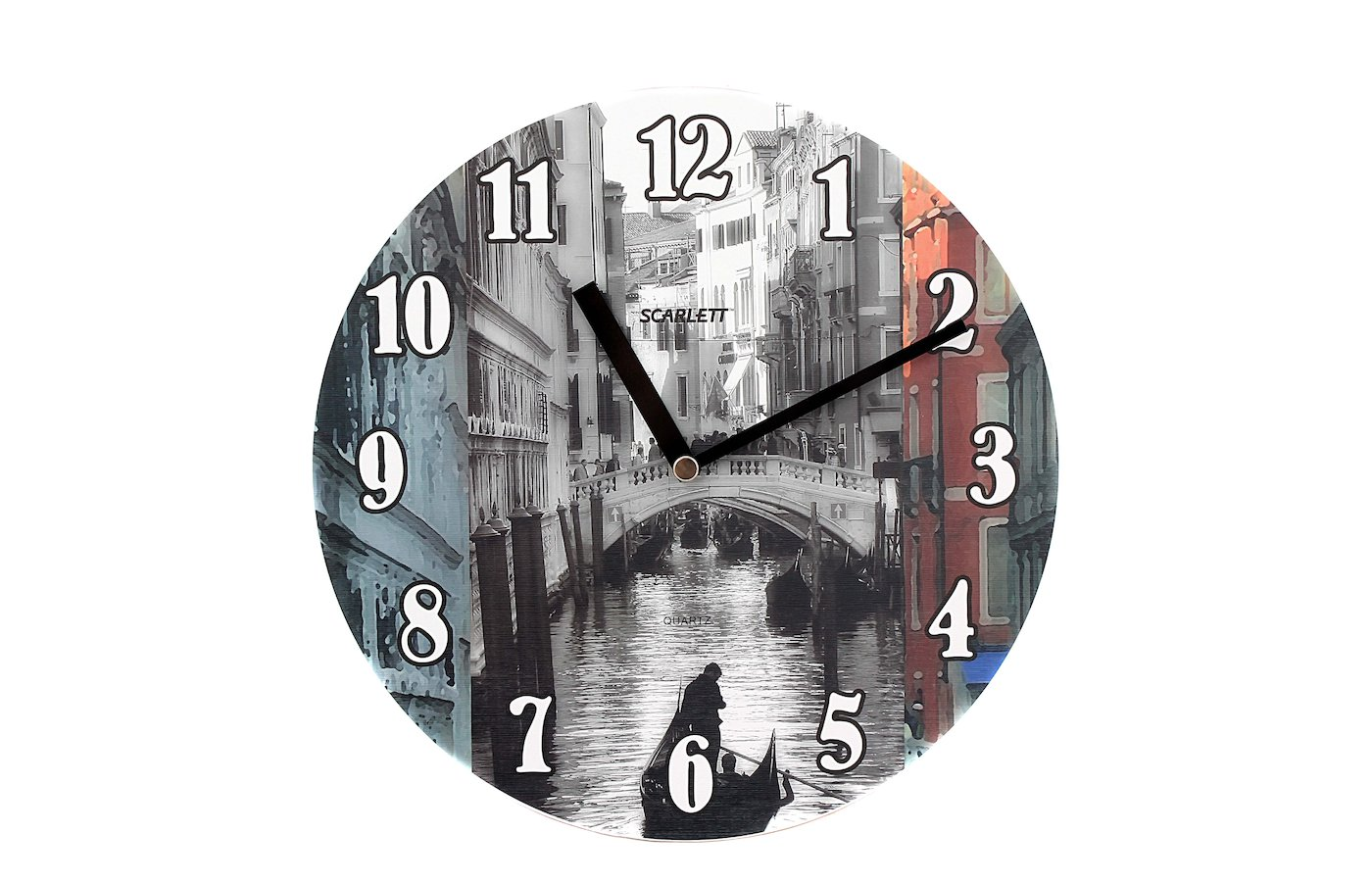 Часы настенные Scarlett 25VN Модерн плавный ход