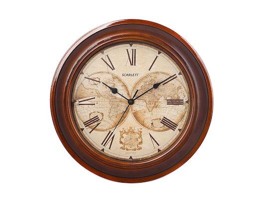 Часы настенные Scarlett 27A Классические / для рабочих кабинетов