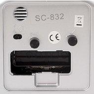 Фото Будильник Scarlett 832 будильник нарастающий сигнал подсветка