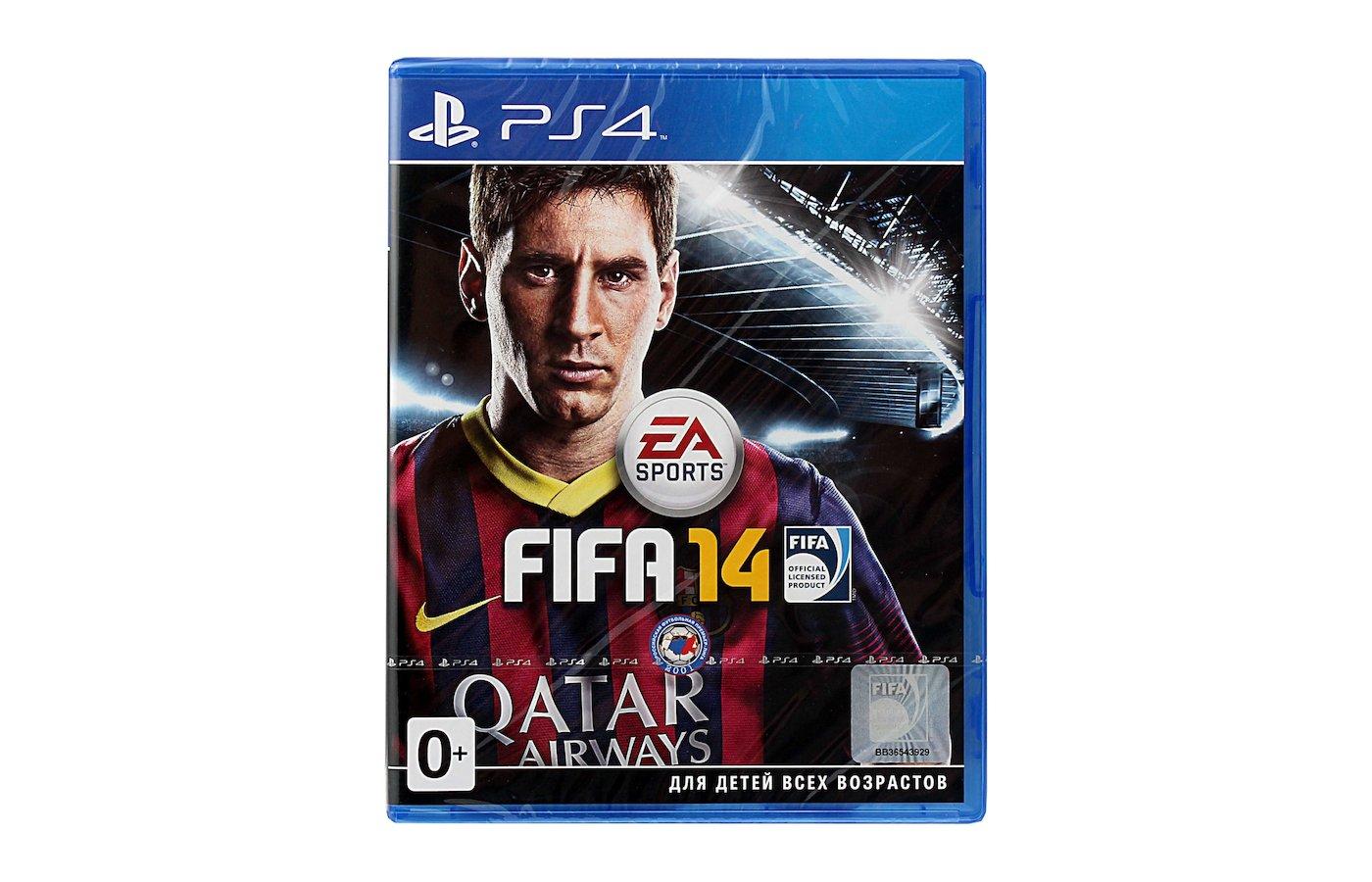 FIFA 14 PS4 русская документация