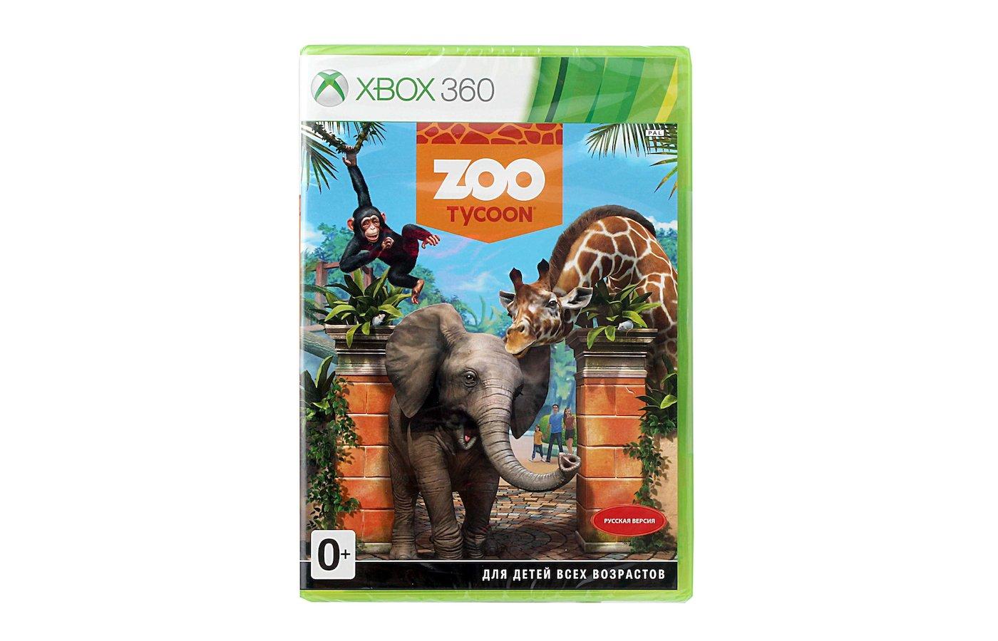 Kinect Zoo Tycoon Xbox 360 русская версия (E2Y-00014)