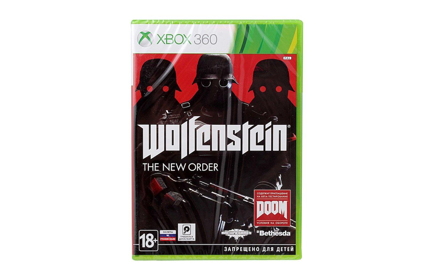 Wolfenstein: The New Order (Xbox 360 русские субтитры)