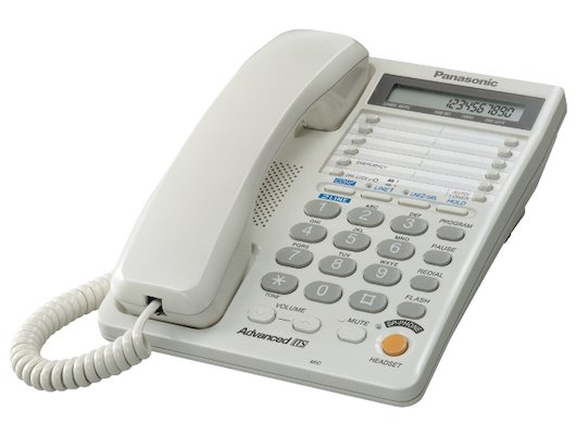 Проводной телефон PANASONIC KX-TS 2368 W