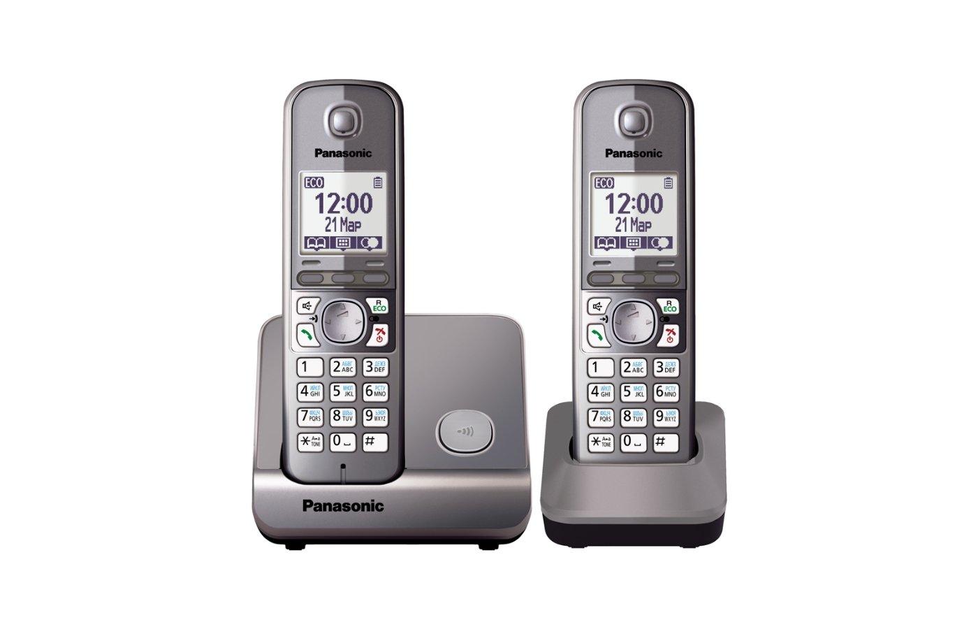 Радиотелефон PANASONIC KX-TG6712 RUM