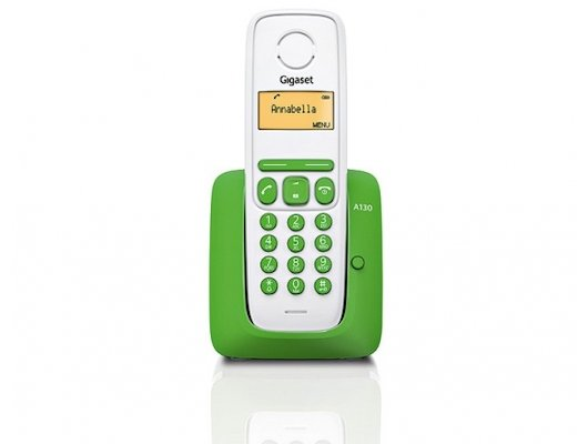 Радиотелефон Gigaset A130 green