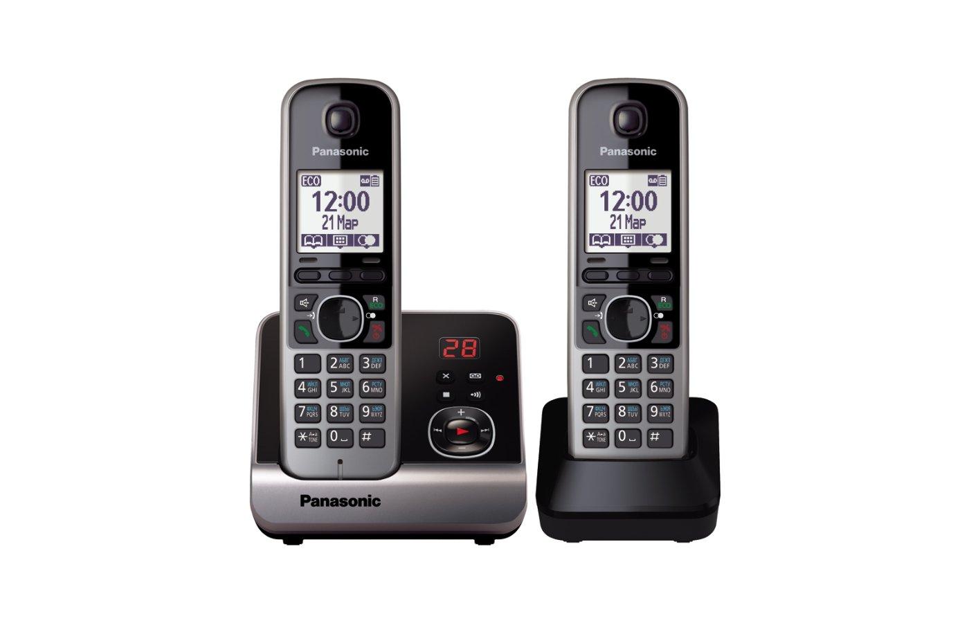 Радиотелефон PANASONIC KX-TG6722 RUB