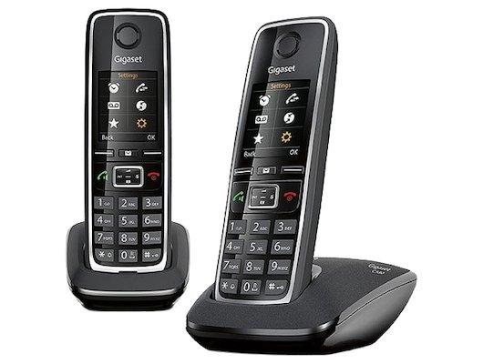 Радиотелефон Gigaset C530 AM DUO black