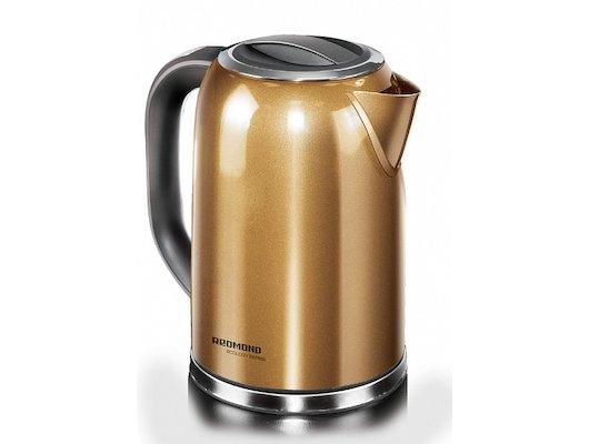 Чайник электрический  REDMOND RK-M114 золотой