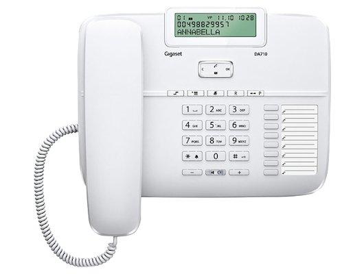 Радиотелефон Gigaset DA710 white