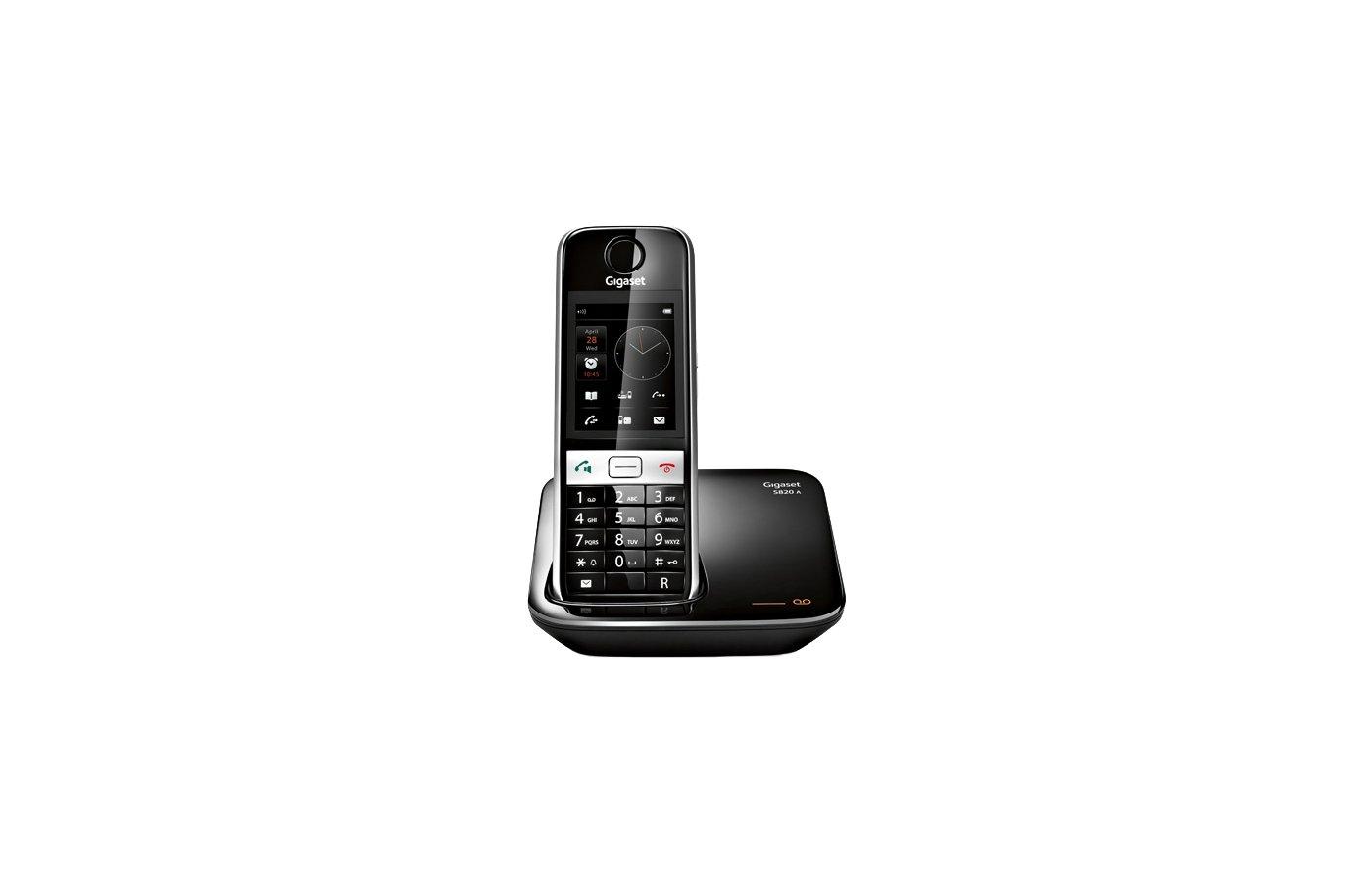 Радиотелефон Gigaset S820A black