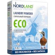 Фото Средства для стирки и от накипи NORDLAND 104467 стиральный порошок ECO (без фосфатов) 1.8кг