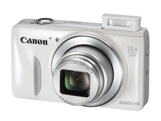 Фотоаппарат компактный CANON PowerShot SX600 HS white