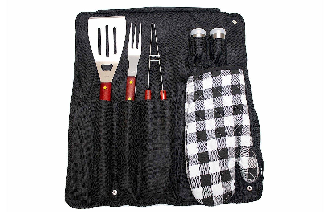 Набор для пикника EXMAKER ZDBQ-506 набор для барбекю 6 предметов в сумке
