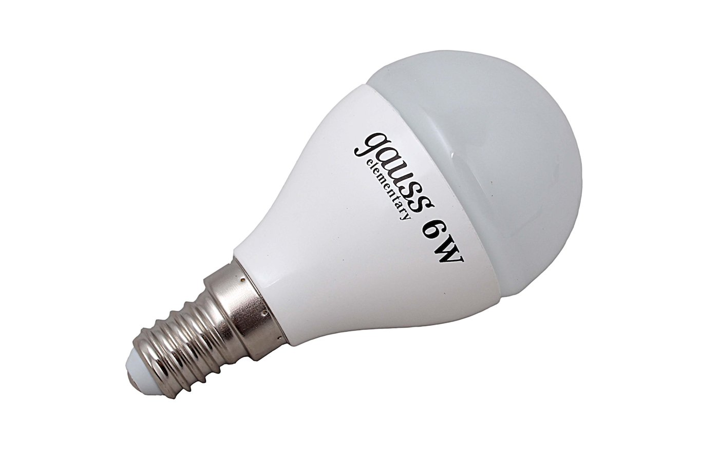 Лампочки LED Gauss LED Elementary Globe 6W E14 2700K