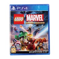 Фото LEGO Marvel Super Heroes PS4 русская документация