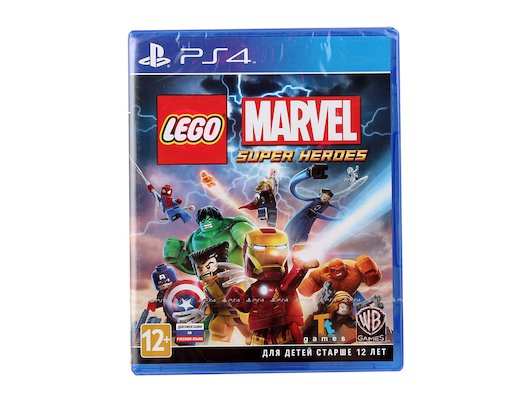 LEGO Marvel Super Heroes PS4 русская документация