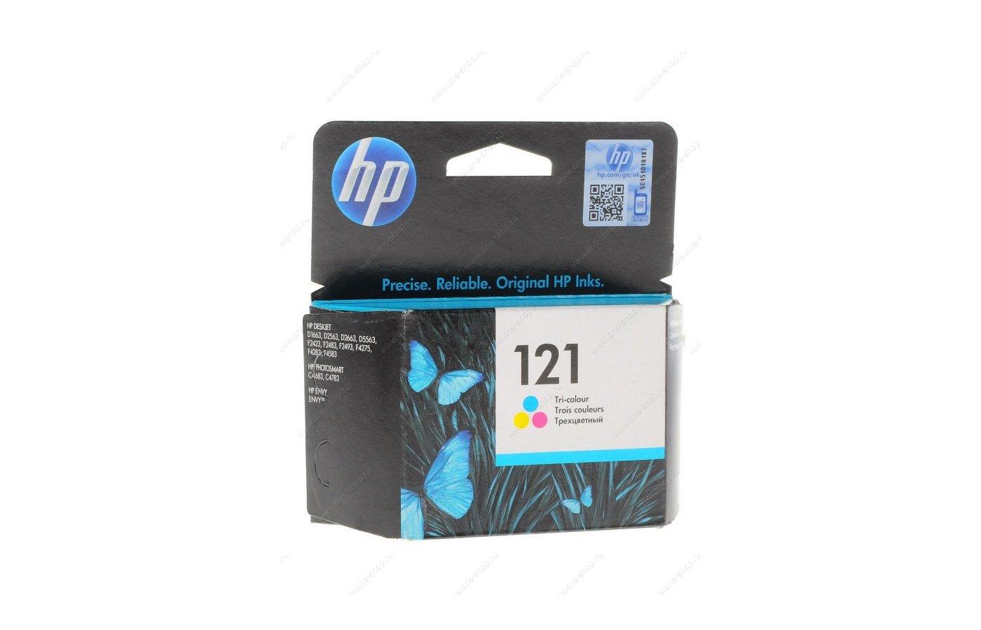 Картридж струйный HP CC643HE 121 для F4200 трехцветный