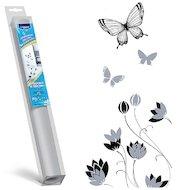 Фото Аксессуар к холодильникам TOPPERR 7004 Декоративная наклейка д/холодильников Бабочки и цветы
