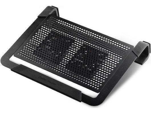 Подставка для ноутбука Cooler Master NotePal U2 Plus Black (R9-NBC-U2PK-GP) (до 17 2 вентилятора 80мм черный)