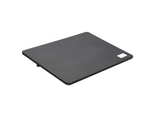 Подставка для ноутбука Deepcool N1 BLACK (до 156 cупертонкий 2.6см 180мм вентилятор черный)