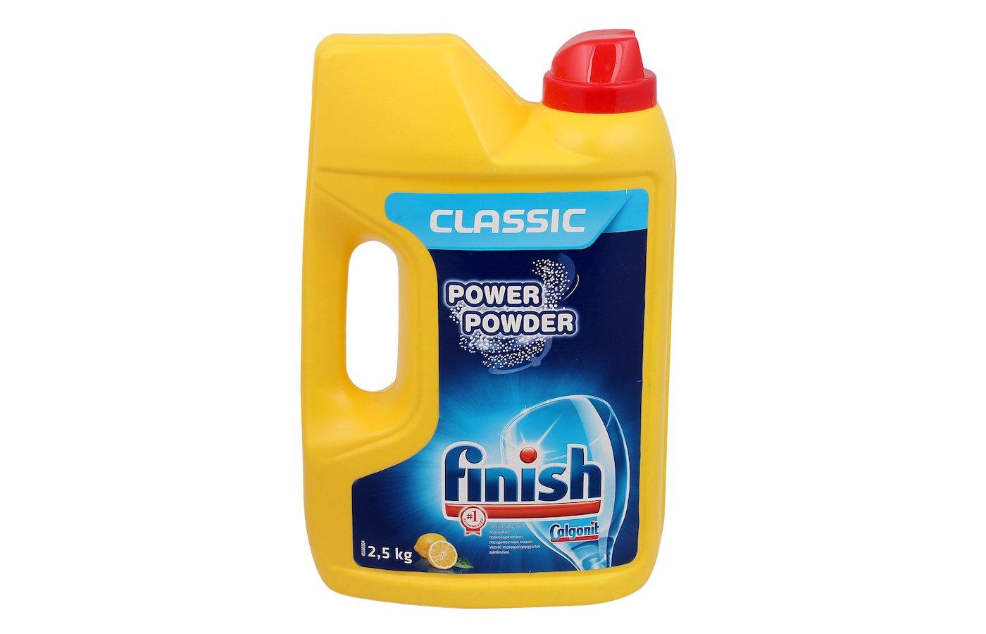 Порошок для ПММ CALGONIT FINISH Lemon 2.5кг