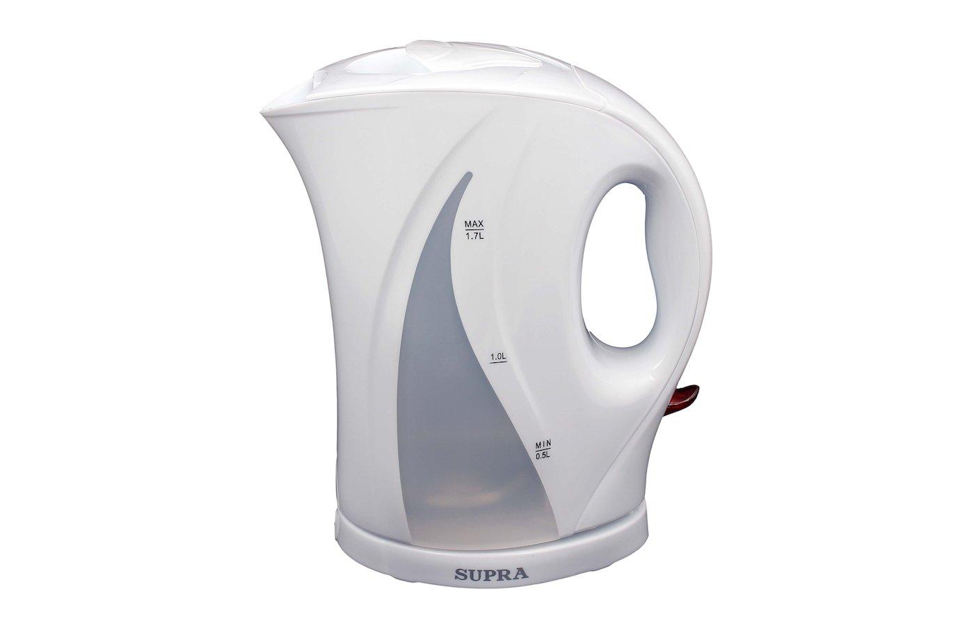 Чайник электрический  SUPRA KES-1701 white