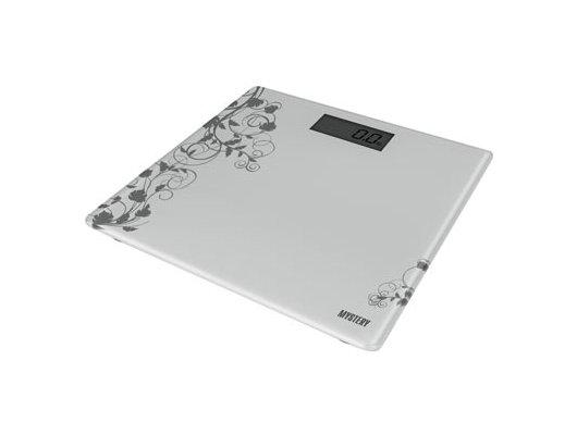 Весы напольные MYSTERY MES-1808 silver