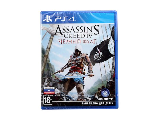 Assassins Creed IV. Черный флаг (PS4 русская версия)