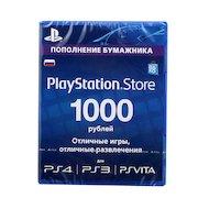 Карта оплаты Sony Playstation 1000 руб.