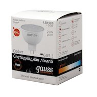 Фото Лампочки LED Gauss LED Elementary MR16 5.5W GU5.3 2700К