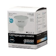 Фото Лампочки LED Gauss LED Elementary MR16 5.5W GU5.3 4100К