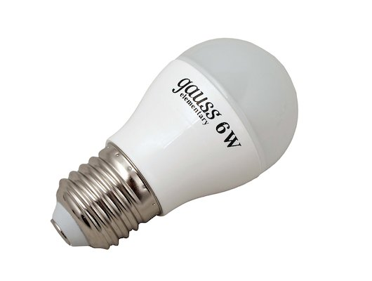 Лампочки LED Gauss LED Elementary Globe 6W E27 4100K