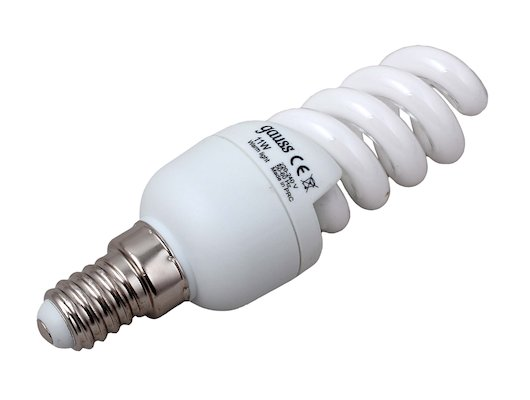 Лампочки энергосберегающие Gauss Spiral T2 11W 2700K E14