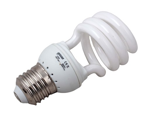 Лампочки энергосберегающие Gauss Spiral T2 15W 2700K E27