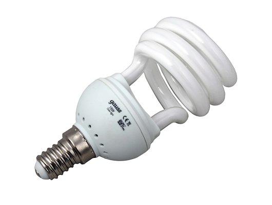 Лампочки энергосберегающие Gauss Spiral T2 15W 4200K E14