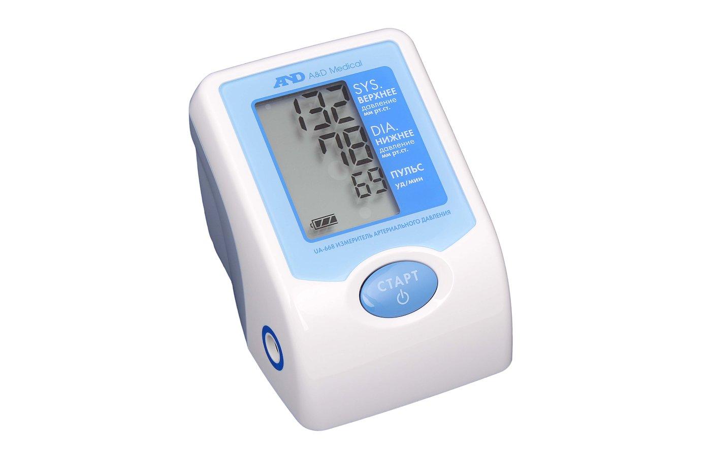 Термометры и измер. давления AnD UA-668 тонометр