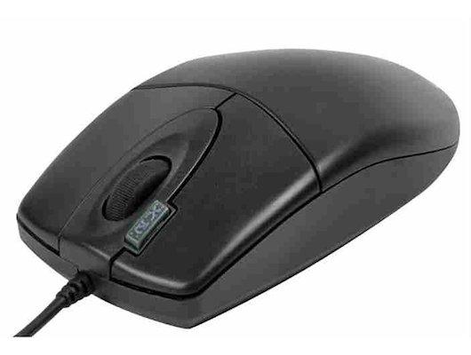 Мышь проводная A4Tech OP-620D Black USB