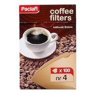 Фильтры для кофеварок PACLAN 135012/304004/304003 Р4 100шт