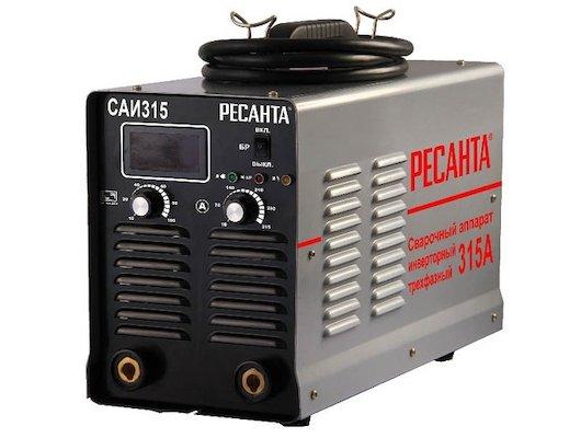 Сварочный аппарат Ресанта САИ-315 3ф